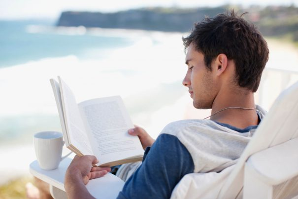 man reading, best motivational books