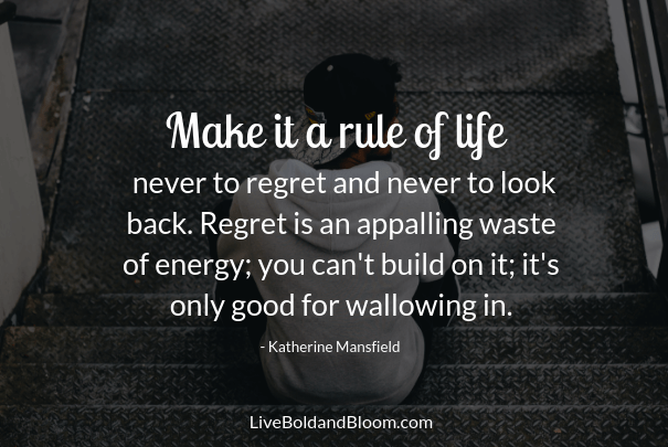 99 Regret Quotes The Ultimate List Of Quotes On Regretting