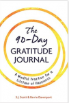 90-Day Gratitude Journal cover things to be thankful for