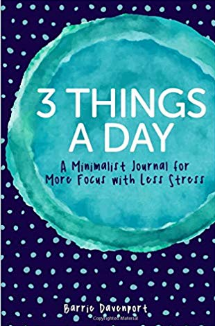 3 Things A Day Journal