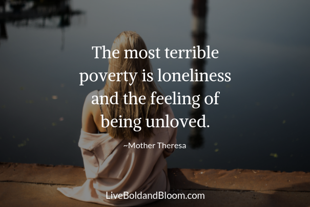 woman sitting loneliness quotes