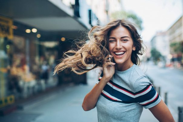 happy woman, how to be happy again
