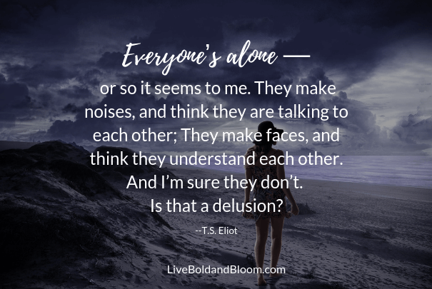 woman alone, loneliness quotes