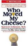 Who Moved My Cheese cover- blinkist review
