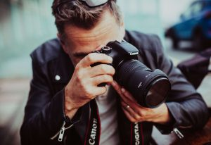man with camera, hobbies for men