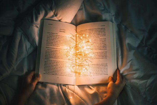 book with lights, life-changing books