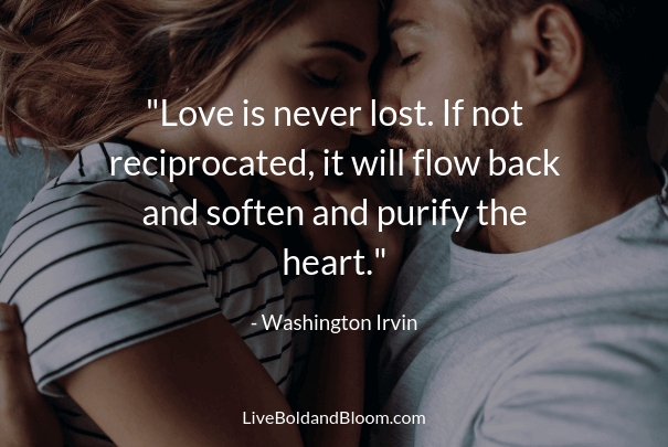 love is never lost regret quotes