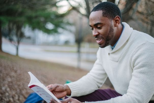 man reading, best books for men