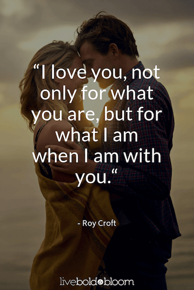 couple close in sunlight I Love You Quotes