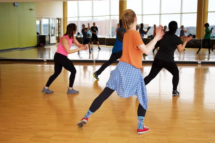 group exercise class self-improvement
