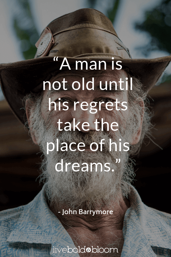 older man wearing hat headshot short positive quotes