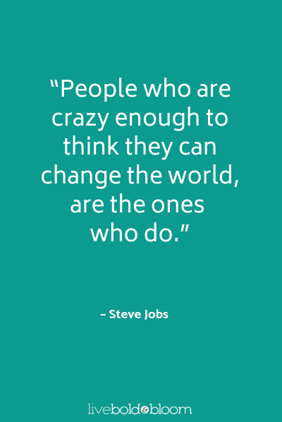 steve jobs quotes motivation Monday quotes