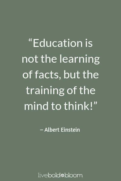 Albert Einstein quote Growth Mindset Quotes
