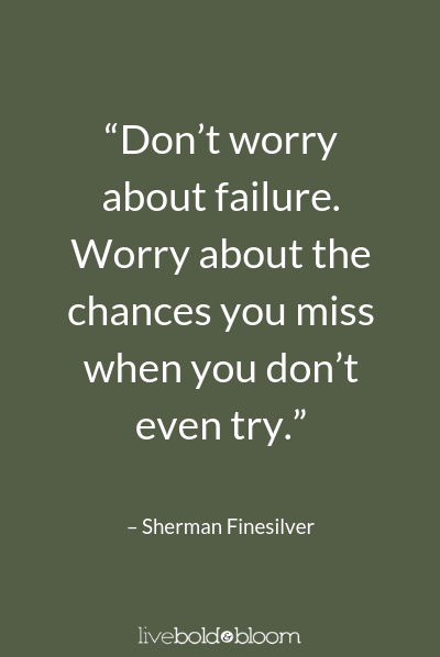 Sherman Finesilver quote Growth Mindset Quotes
