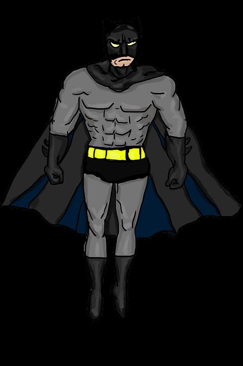 batman, easy things to draw