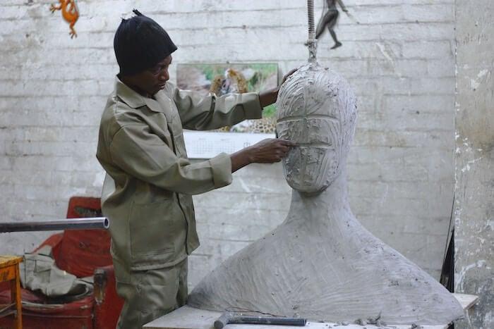 artist sculpting how to Believe In Yourself