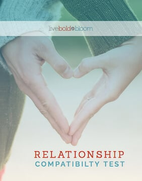 graphics cover of relationship compatibility test