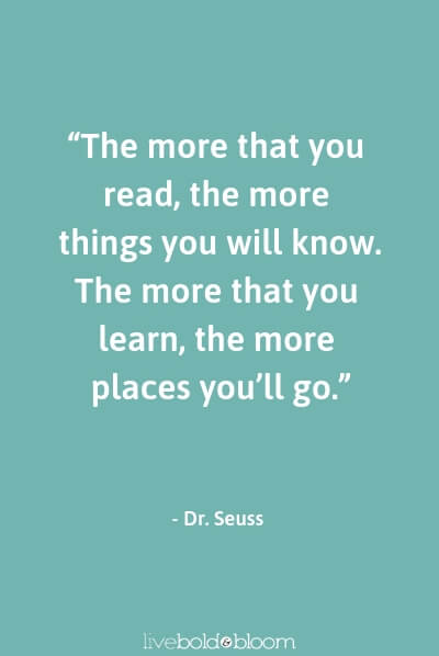 Dr. Seuss quote quotes for kids