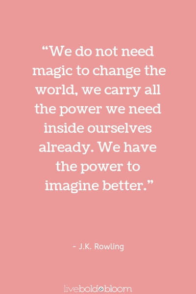 J.K. Rowling quote Inspirational Quotes for Kids