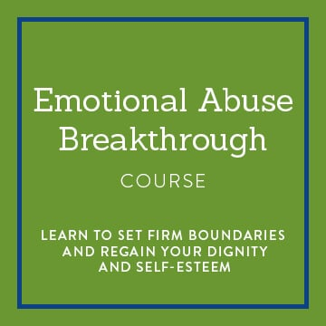 Emotional Abuse Breakthrough course banner