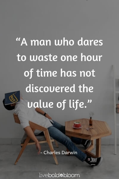 Charles Darwin quote life is short quotes
