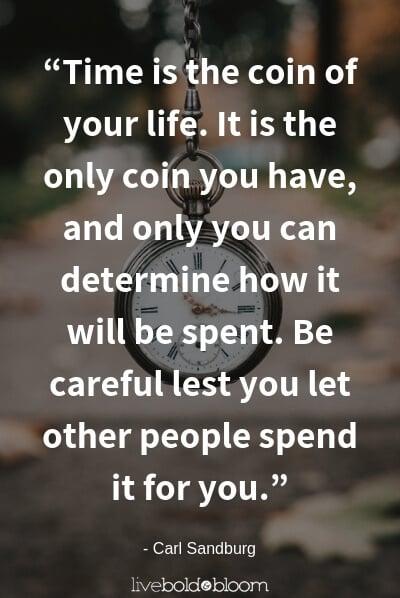 Carl Sandburg quote life is short quotes