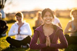 women meditating, Women's Retreats