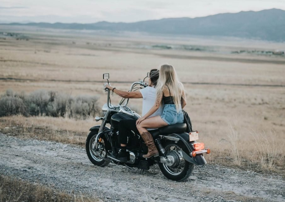 couple on motorcycle, badass quotes