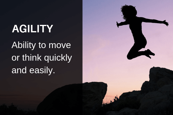 Agility, beautiful words