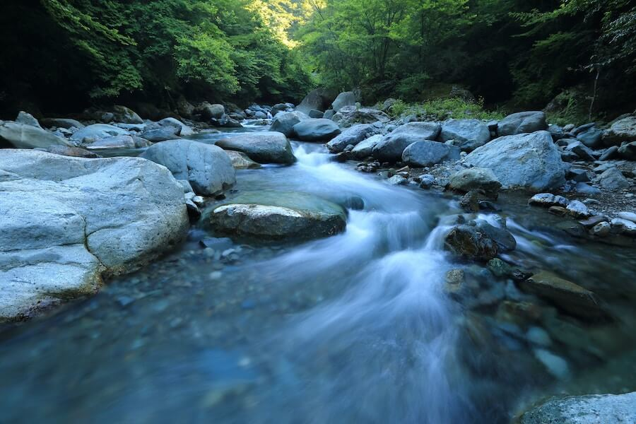 mountain stream soothing water quotes