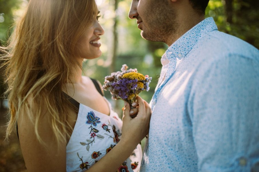 man and woman talking, love poems for husband