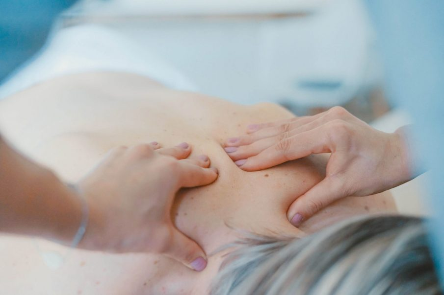 back massage, natural muscle relaxers