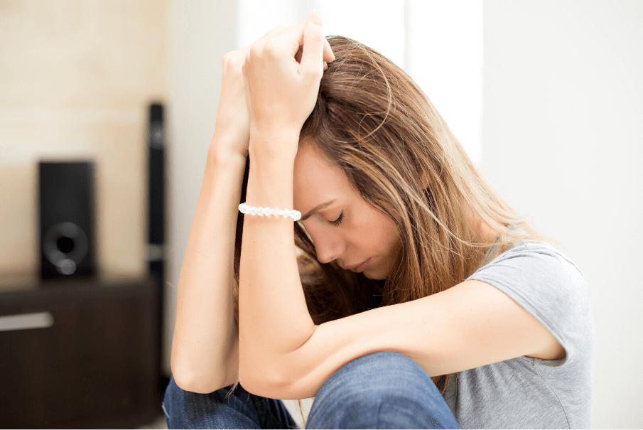 sad woman, feeling worthless