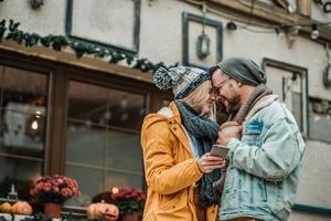 Couple-on-a-city-break female led relationship
