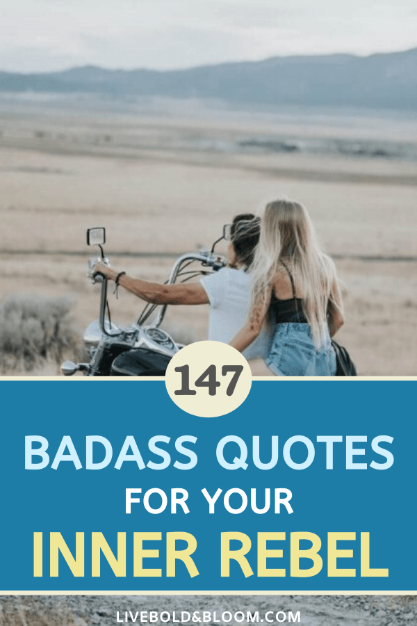 Looking for some motivation and a boost? Check out these badass quotes to get you moving forward and being your best. badass quotes for selfies | badass quotes gangsters | badass quotes boss queens