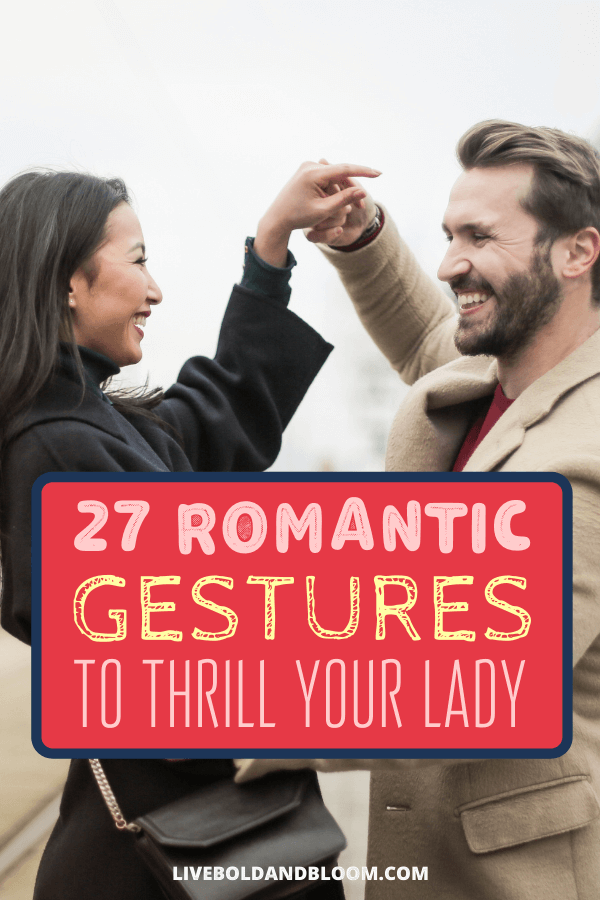 Thinking of giving your wife or girlfriend a romantic surprise? Check out this list of grand romantic gestures that will communicate your love.