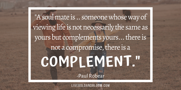 paul robear quote Soulmate Quotes