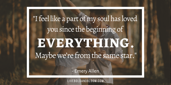 emery allen quote Soulmate Quotes