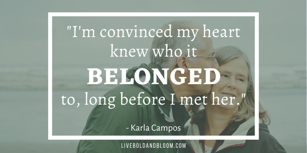 karla campos quote Soulmate Quotes