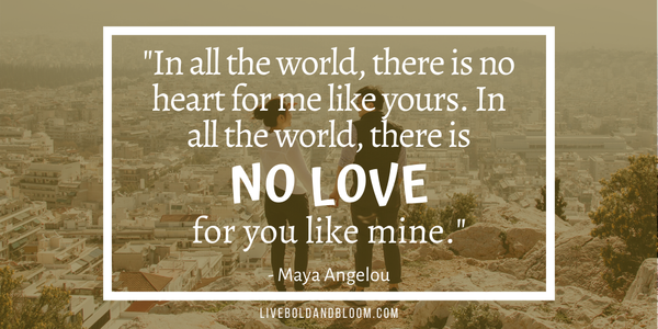 maya angelou quote Soulmate Quotes