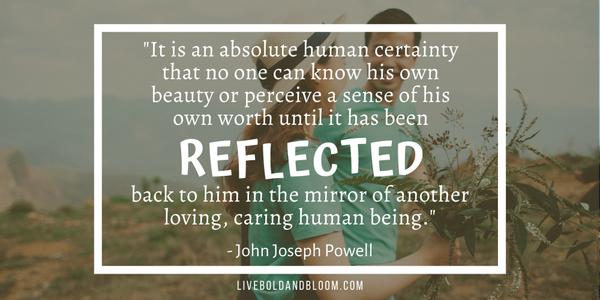 john joseph powell quote Soulmate Quotes