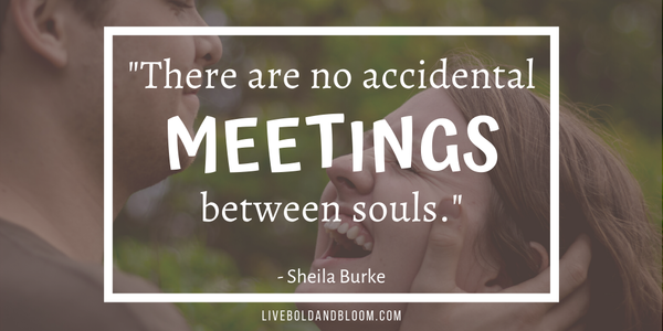sheila burke quote soulmate quotes