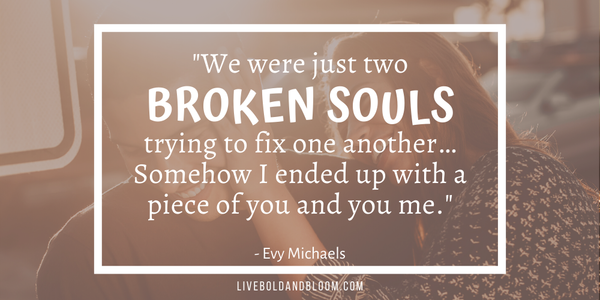 Evy Michaels soulmate quotes