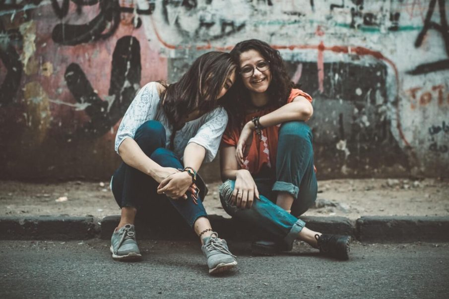 two friends, how to help a friend through a breakup
