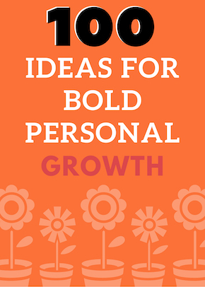 100 bold ideas cover