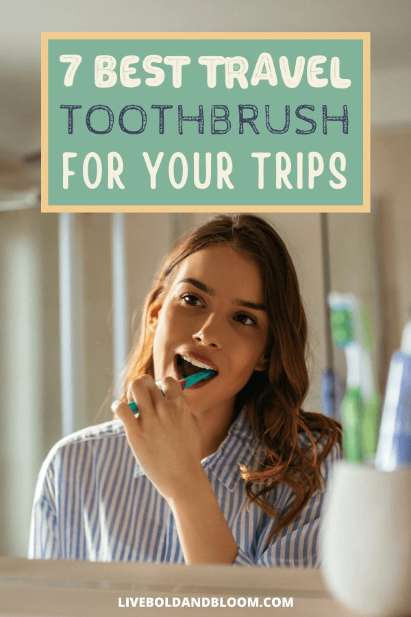Keep your breath fresh even when traveling by having a travel toothbrush. Check this post as we've collected the best travel toothbrushes out there.