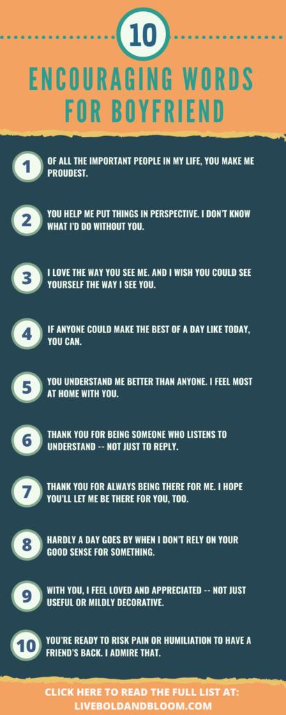encouraging words for boyfriend