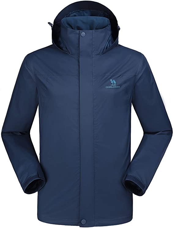 CAMEL CROWN Men's Waterproof Jacket