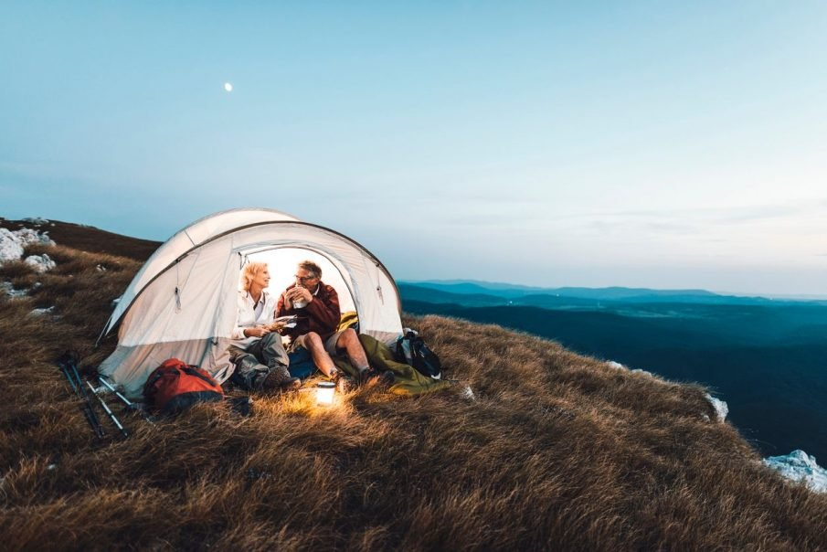 couple camping, camping gift ideas for couples