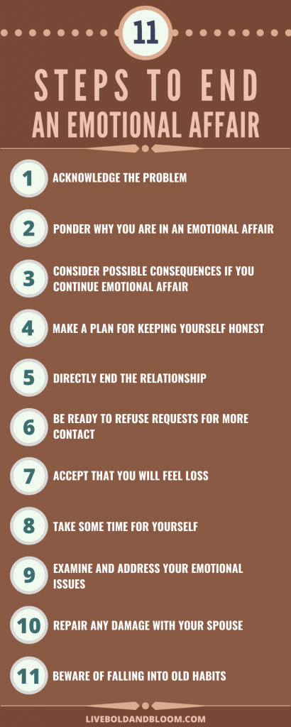11 Best Ways To End An Emotional Affair